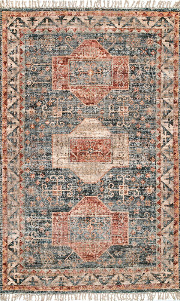 Alliston Flatweave Brown Blue Rug Rugs Usa Rugs On Carpet Rugs