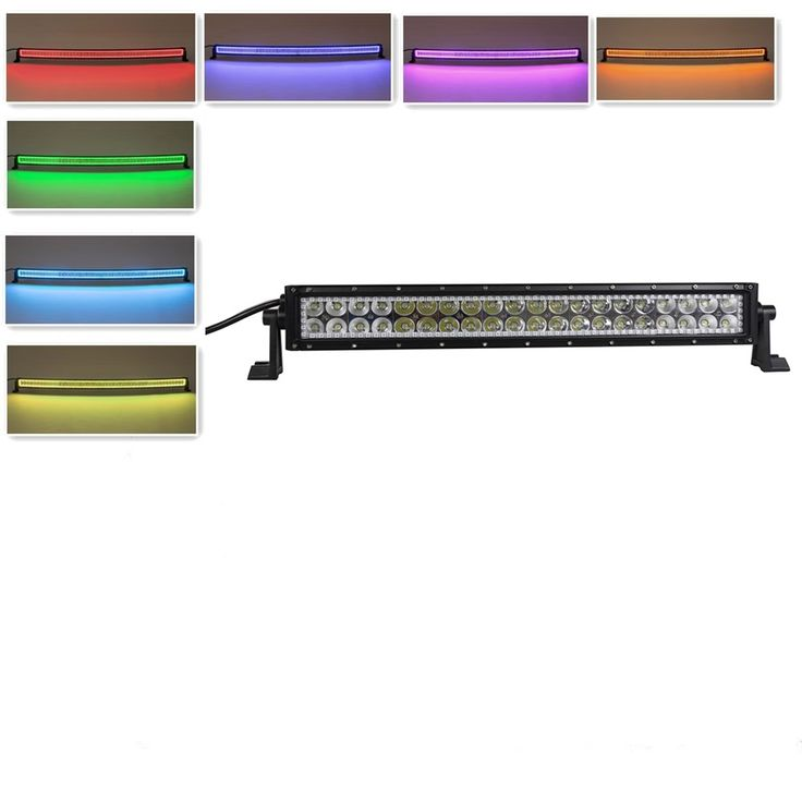 """120.00$  Watch now - http://alijys.worldwells.pw/go.php?t=32727755780 - """"Nicoko 22""""""""120w Led Light Bar Truck Light Bar with RGB Halo Off Road Driving Light 4X4 ATV SUV Boating Truck 12V Truck Motorcycle"""""""