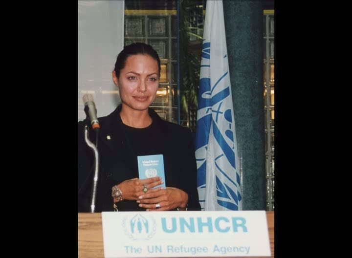 Angelina Jolie - United Nations Goodwill Ambassador with the United Nations High Commissioner for Refugees