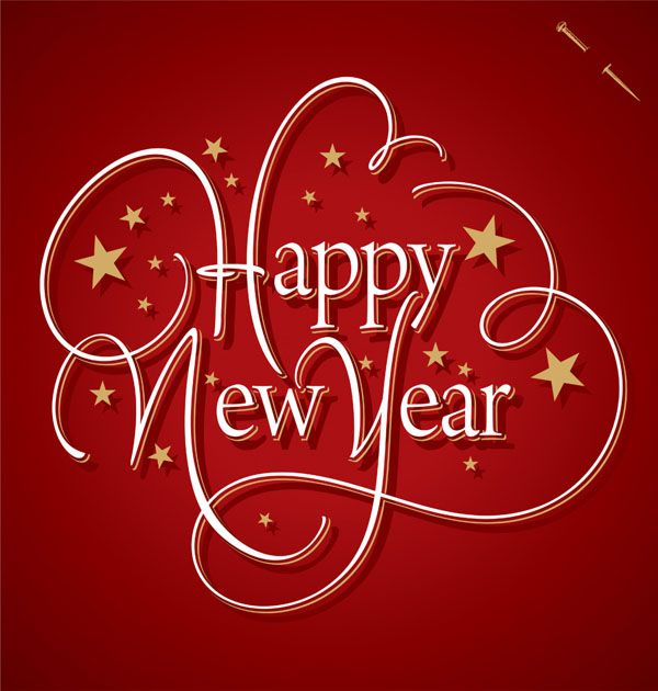 30 Beautiful New Year Greeting Card designs for your inspiration. Follow us www.pinterest.com/webneel