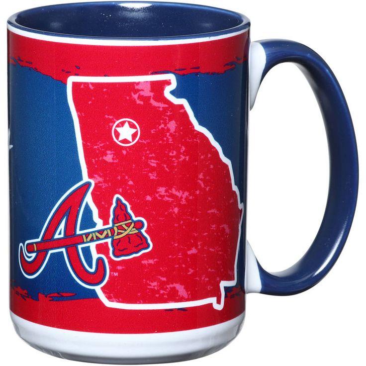 Atlanta Braves 15oz. It's Your State Of Mind Mug