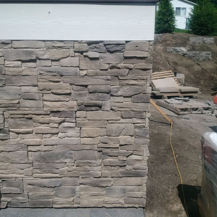 Be On Stone Architectural Canyon Veneer installation