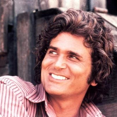 Micheal Landon, so handsome. Little house is one of my favorite shows.