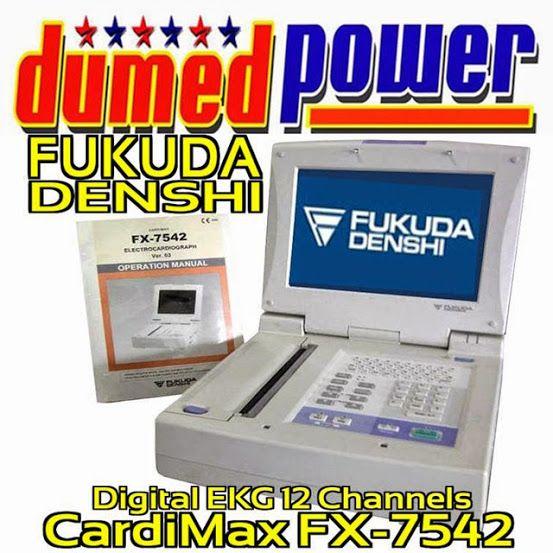 """Jual EKG/ ECG 12 Leads CardiMax (FX-7542) """"Fukuda Denshi"""""""