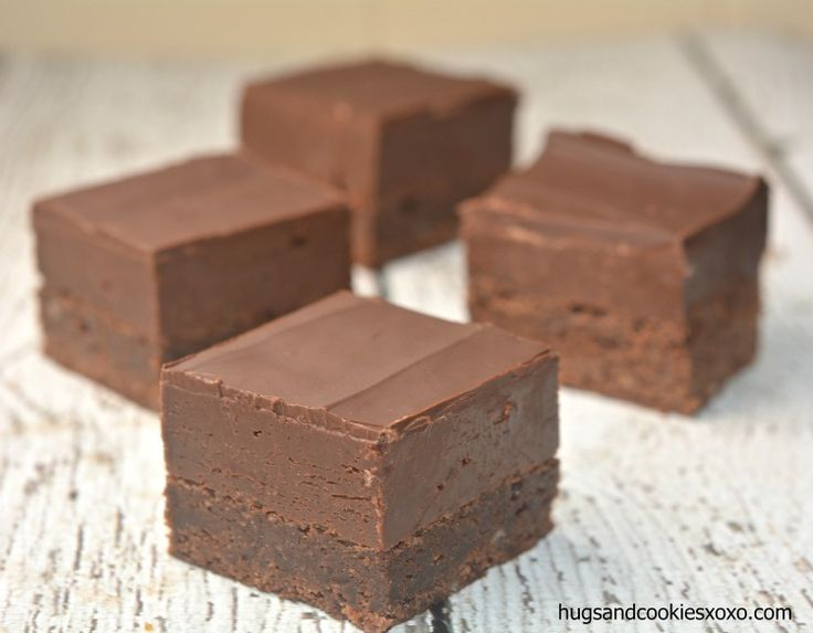 Do you enjoy Nutella sandwiches for lunch? Love eating Nutella by the spoonful? Have I got the brownie for you! A rich, dense brownie topped with Nutella Fudge! Yes, you read that correctly! Nutella! Fudge!