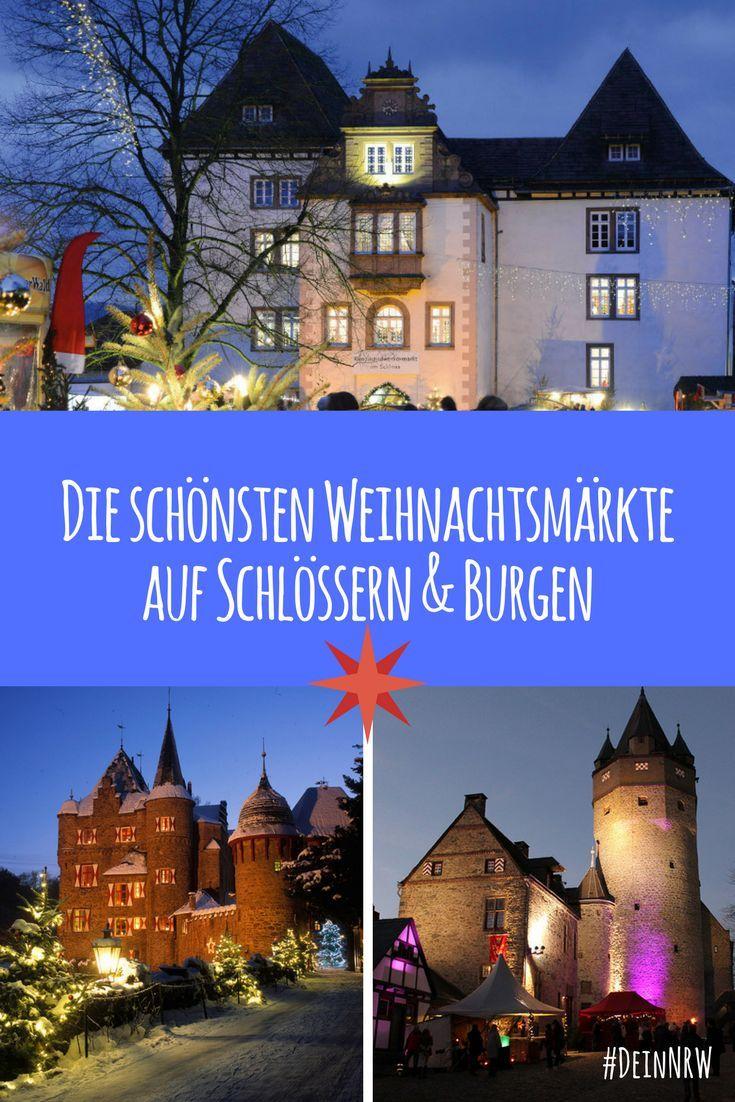 Wir haben Dir eine Liste mit den schönsten Weihnachtsmärkten auf Schlössern und Burgen in NRW zusammengestellt - so romantisch! #deinnrw ©️️ Porzellanmanufaktur FÜRSTENBERG GmbH; Jürgen Sittig; Michelle Wolzenburg Märkischer Kreis