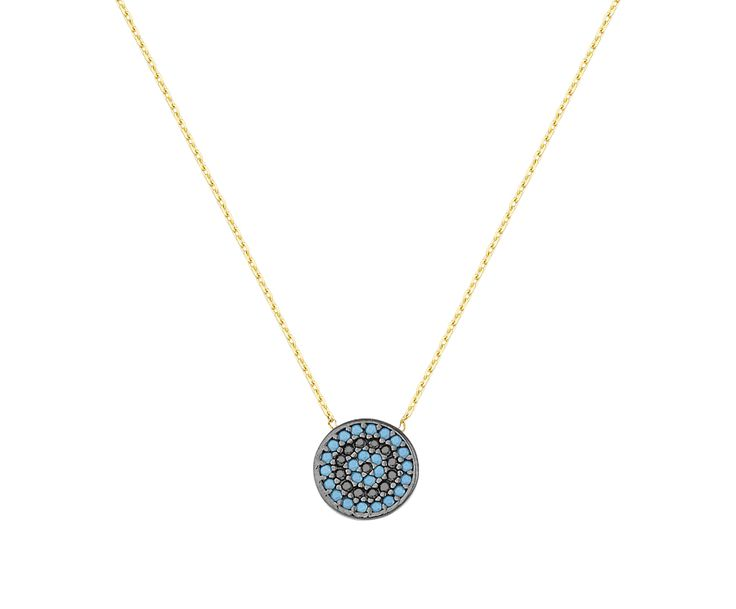 gold necklace in 14K