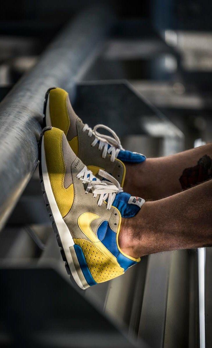 Nike Air Epic: Yellow/Blue