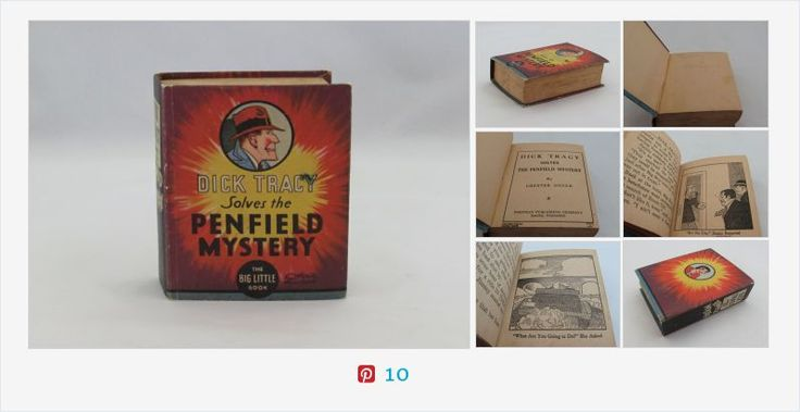 #DickTracy Solves the Pennfield #Mystery ***ALSO SEE Vintage Jewelry at: http://MyClassicJewelry.com/shop