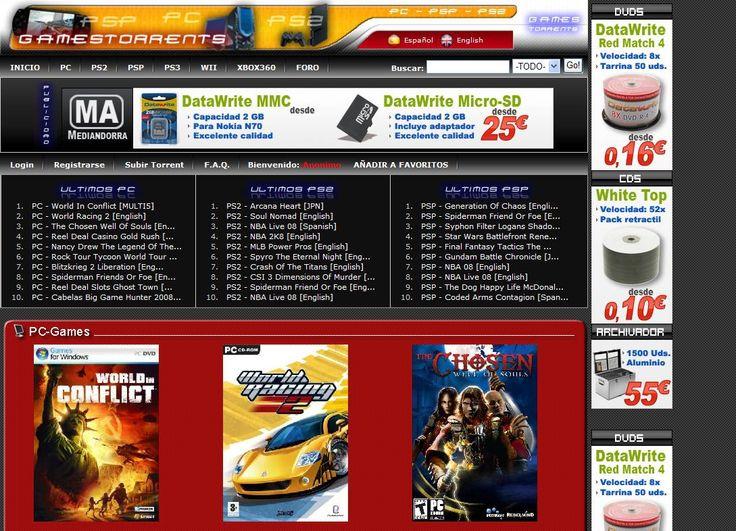 http://www.gamestorrents.com/ | GamesTorrents - Bittorrent ...