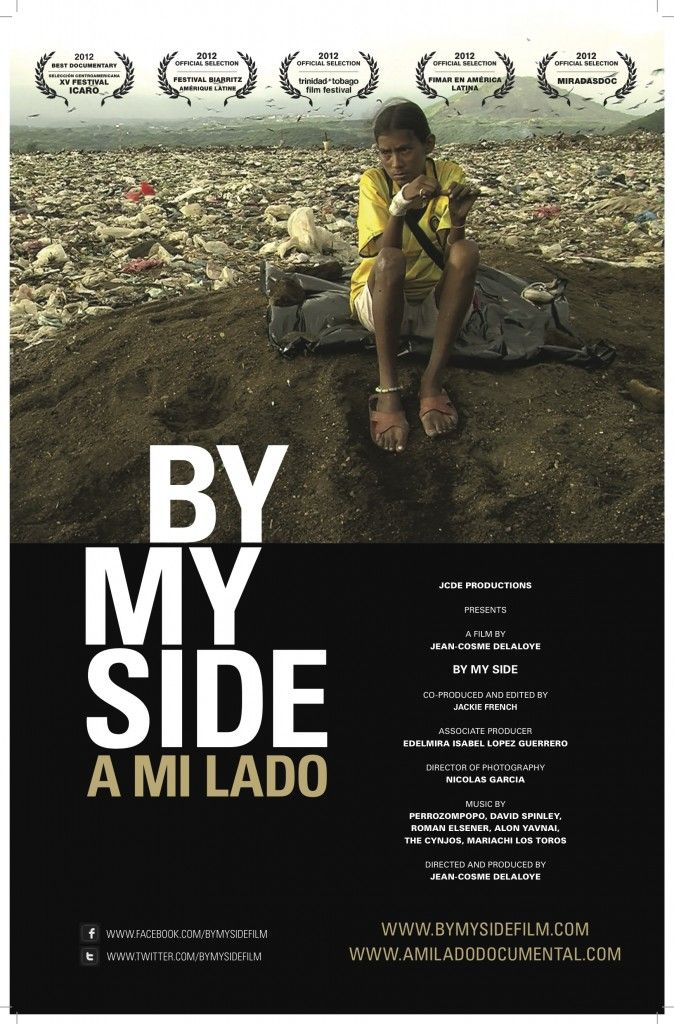 Updated poster of By My Side [A Mi Lado] designed by Fabio Cutro.