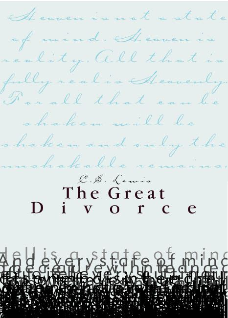 the great divorce: Book Book, Reading List, Booklust Reading, Favorite Books, Books Reading