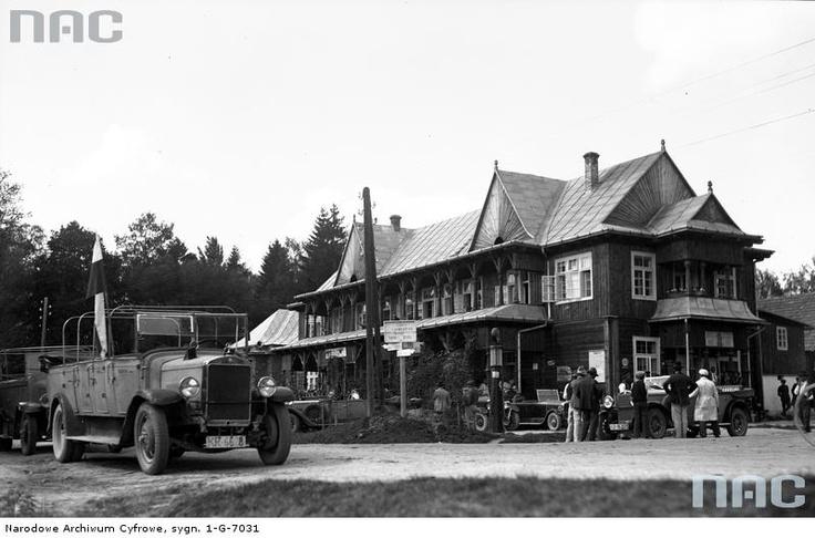 Restauracja Szperlinga w Czorsztynie, 1930
