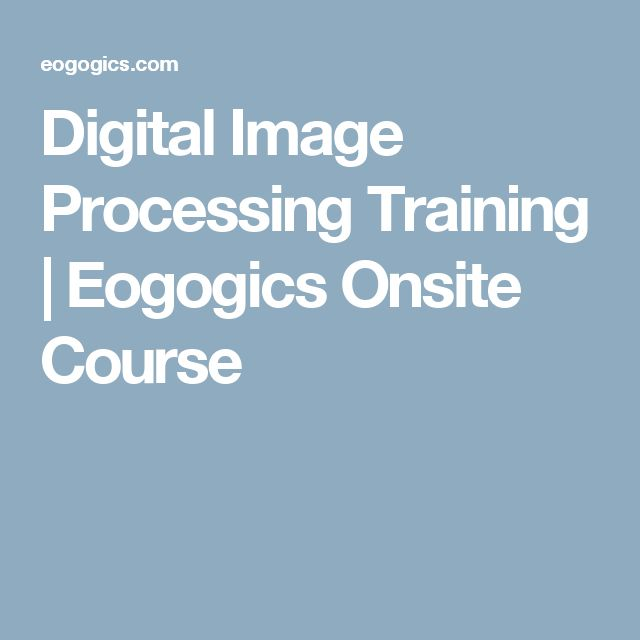New Eogogics course teaches principles, algorithms & technologies for acquiring, enhancing, transmitting & analyzing digital images incl: Histograms & other analytical tools, digital image/video perception, optimal quantization & image compression, image transformations, digital filtering, image analysis, feature extraction, capabilities/limitations of image processing & how-to's for fields such as astronomy, biology, engineering, intelligence, medicine, physics www.eogogics.com/?p=20696/