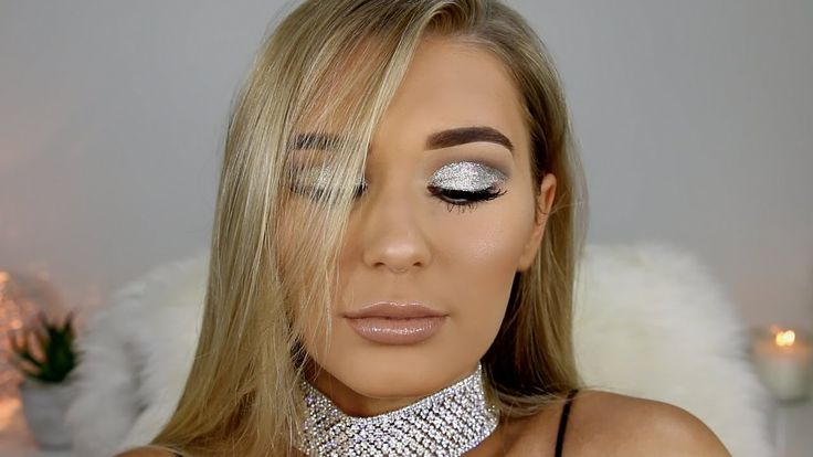 Fun Silver Bombshell Makeup Tutorial | SHANI GRIMMOND
