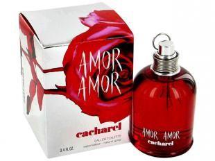 Cacharel Amor Amor - Perfume Feminino Eau de Toilette - achei forte, enjoativo e me deu dor de cabeça. Isso porque é Eau de toilette.