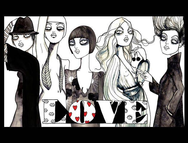 Go on drawing girls!! * Design Catwalk