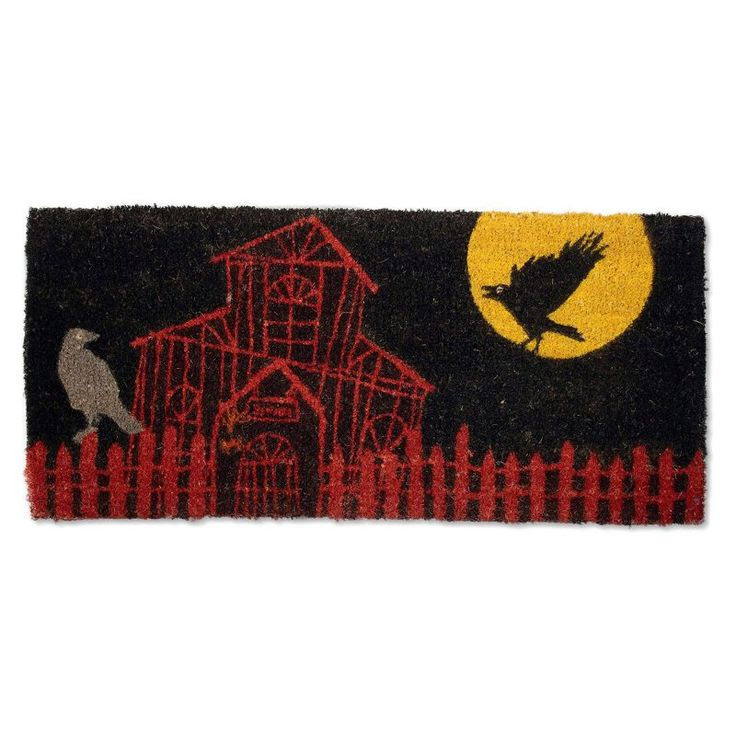 Tag Haunted House Estate Coir Doormat - TAG95462