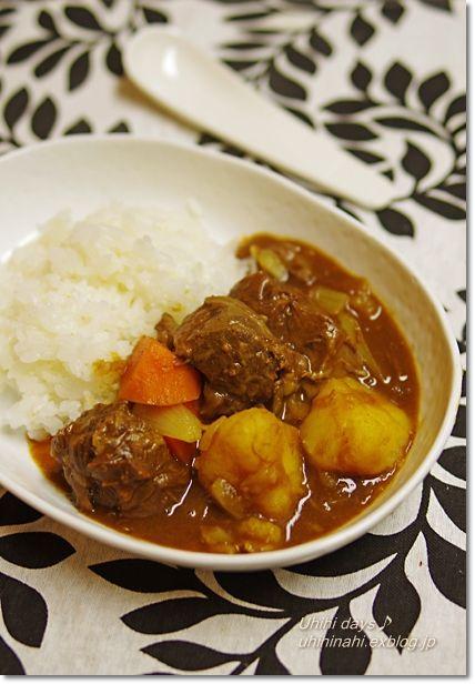 Japanese Curry Rice 牛すね肉のカレー
