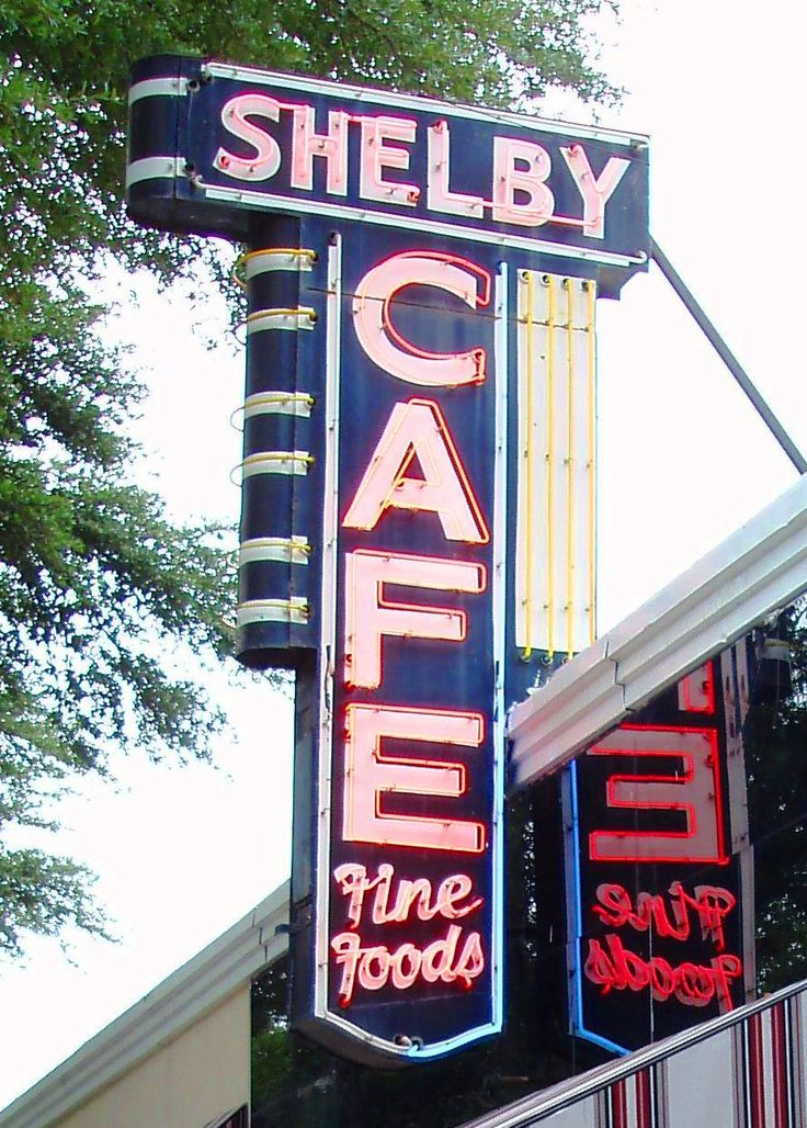 Good food at the Shelby Cafe in Shelby, North Carolina