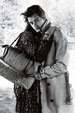 Creates 'Beloved Characters' in every movie.  The amazing Sam Riley- (pictured here in Burberry ad)