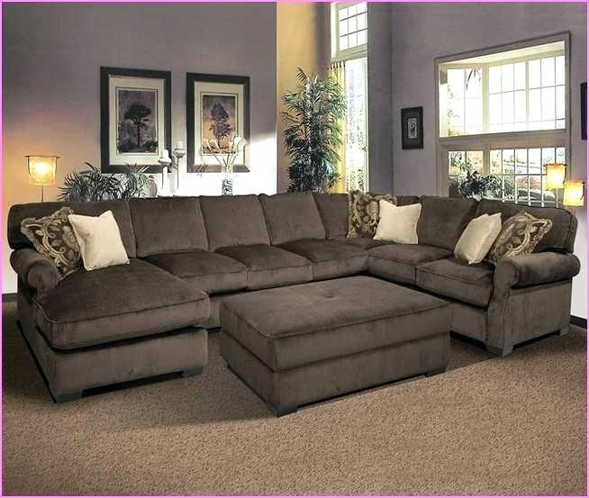 Colorful Deep Cushion Sectional Sofa