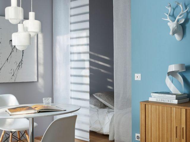 petits espaces comment dormir dans un studio with panneau japonais pour placard. Black Bedroom Furniture Sets. Home Design Ideas