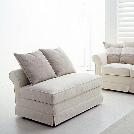 Elemento jolly, anche su misura disponibile in abbinamento al divano classico Liberty - Tino Mariani http://www.tinomariani.it/prodotti/liberty.html