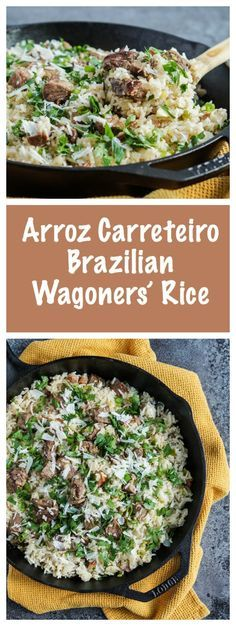 CHURRASCO COOKBOOK REVIEW AND ARROZ CARRETEIRO (BRAZILIAN WAGONERS' RICE)