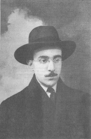 Fernando Pessoa, escritor português.