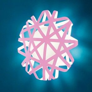 Alt Lucia X-Ray Wall Light. Great concept light for a wall space, in pink, white or blue  at http://www.williedugganlighting.com/shop/alt-lucialternative-x-ray-65-ceiling-wall-light?manufacturer_id=34