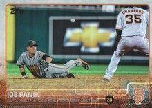 2015 Topps Baseball Rainbow #449 Joe Panik - San Francisco Giants BH