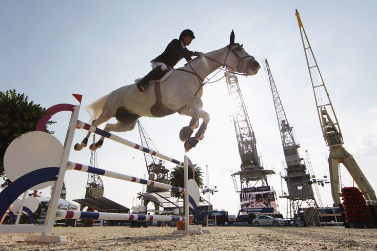 Michael Whitaker Photos: Longines Global Champions Tour: Day 2