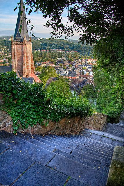 one of my favorite spots in Marburg, Germany