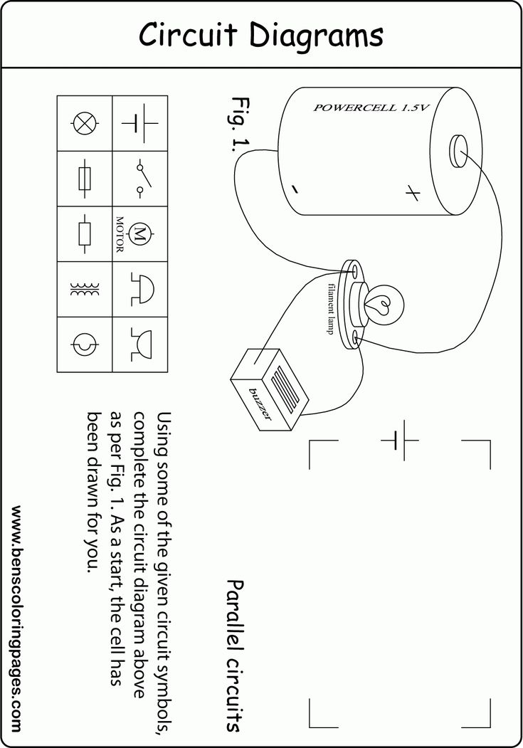 Beautiful Wiring Diagram Worksheet #diagrams #