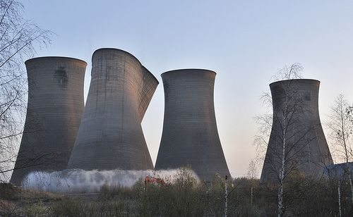 Doncaster Thorpe Marsh Power Station Demolition