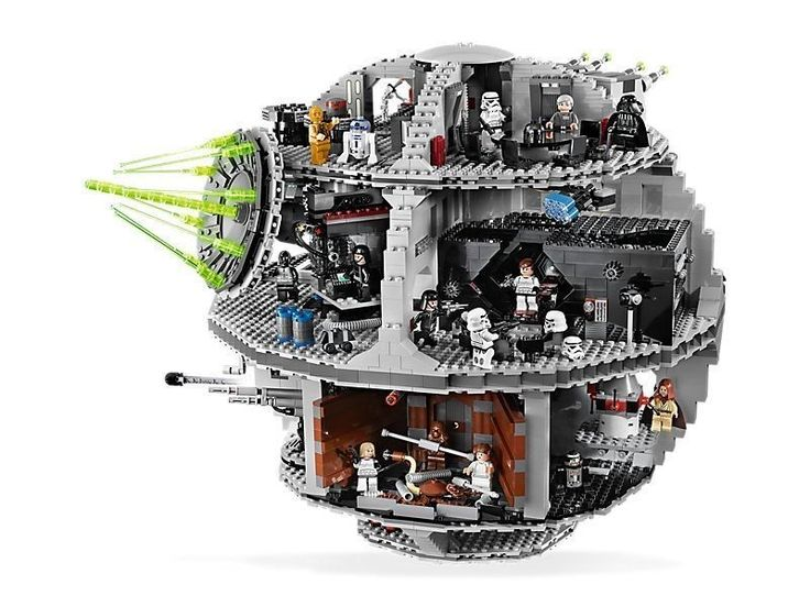 DOUBLE BOXED  Star Wars Death Star LEGO 10188 SOLD OUT IN STORES and ON LINBE