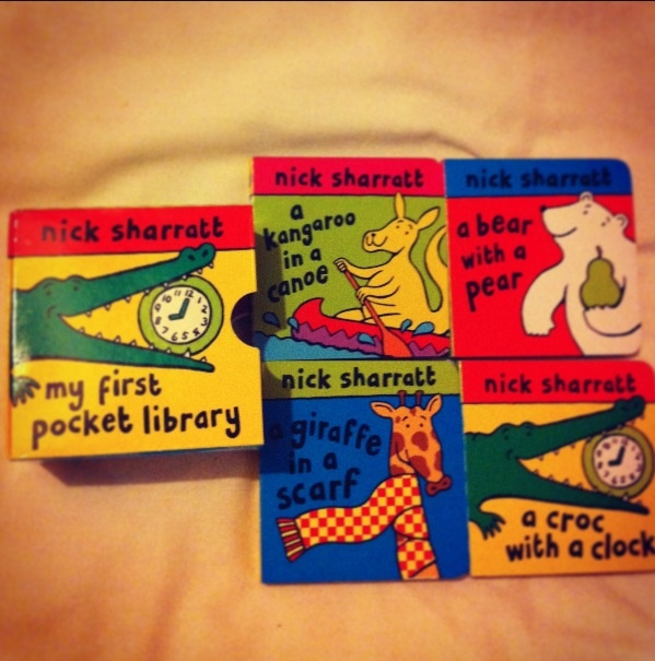 This is a lovely library of books for nursery stage children. The books talk about patters, rhyming words and counting and are very easy to follow.