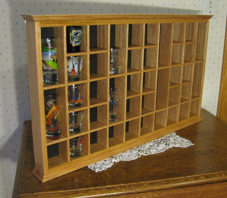 1000+ Ideas About Shot Glasses Display On Pinterest