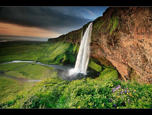 Seljaland Foss, Iceland