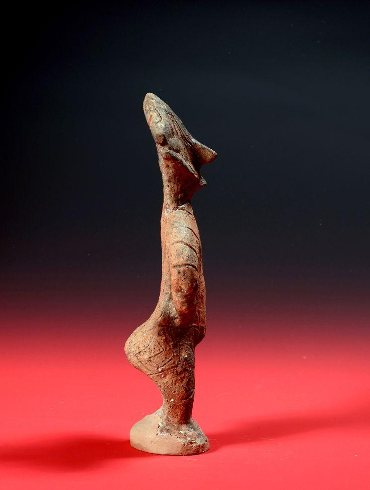 Figurine féminine -Musée national du Kosovo (Pristina) Civilisation de Vinča