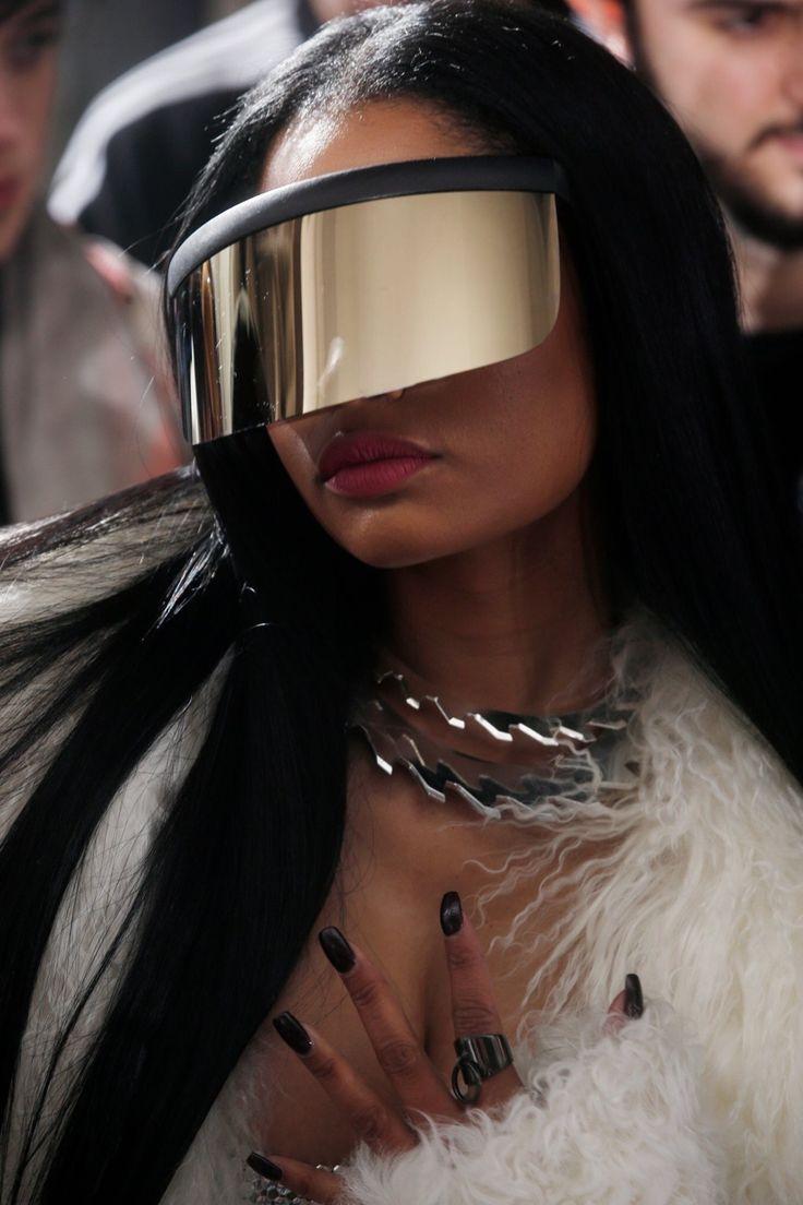 Nicki Minaj attends Rick Owens Fall 2017 RTW show.