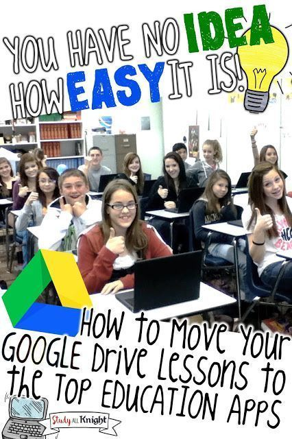 Learn how to move your Google Drive teaching lessons to the top education apps. Great for upper elementary, middle school, and high school students. You'll learn how to work with Notability, Microsoft One Note, SeeSaw, Nearpod, EverNote, Pic Collage, EdMo