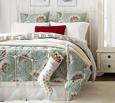 Leona Reversible Comforter and Sham #potterybarn