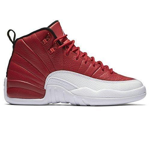 Jordan Retro 12 Youth US 6 Red Basketball Shoe