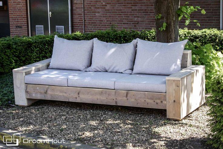 Diy Budget Loungebank : Diy pallet patio or garden corner sofa fotelji od drvo pallet
