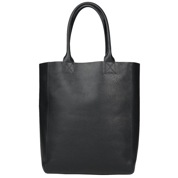 Unlined Tote, black - Samuji - Clothes - Clothing - Finnish Design Shop