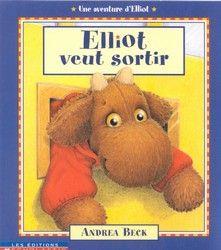 31997000790246 Elliot veut sortir. C'est le printemps et Elliot, l'orignal en peluche, souhaite aller jouer dehors. Avec l'aide de ses amis, il tente de se faufiler dans la boîte aux lettres de la porte d'entrée. Malheureusement, il y reste coincé.