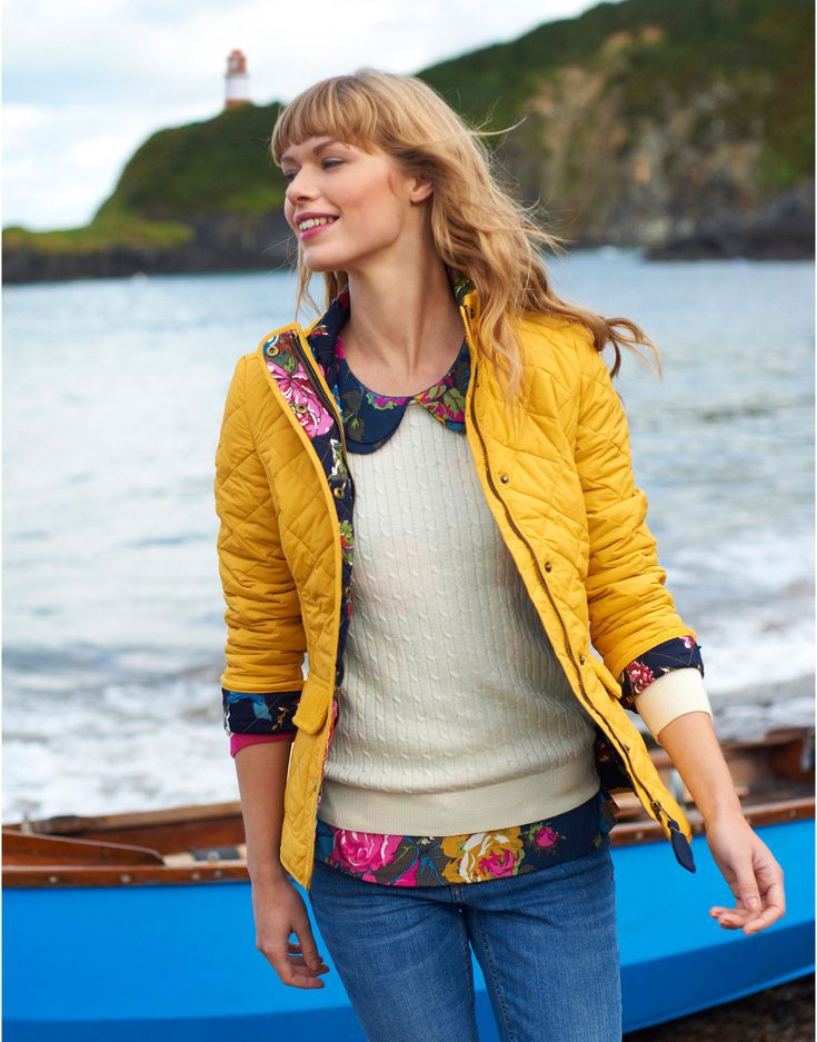 MOREDALE Womens Quilted Jacket  #joules #christmas #wishlist