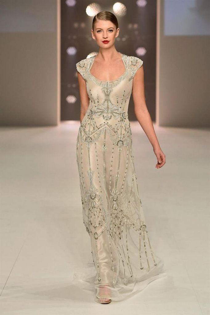 Art Deco Bridesmaid Dress 2016 - http://misskansasus.com/art-deco-bridesmaid-dress-2016/